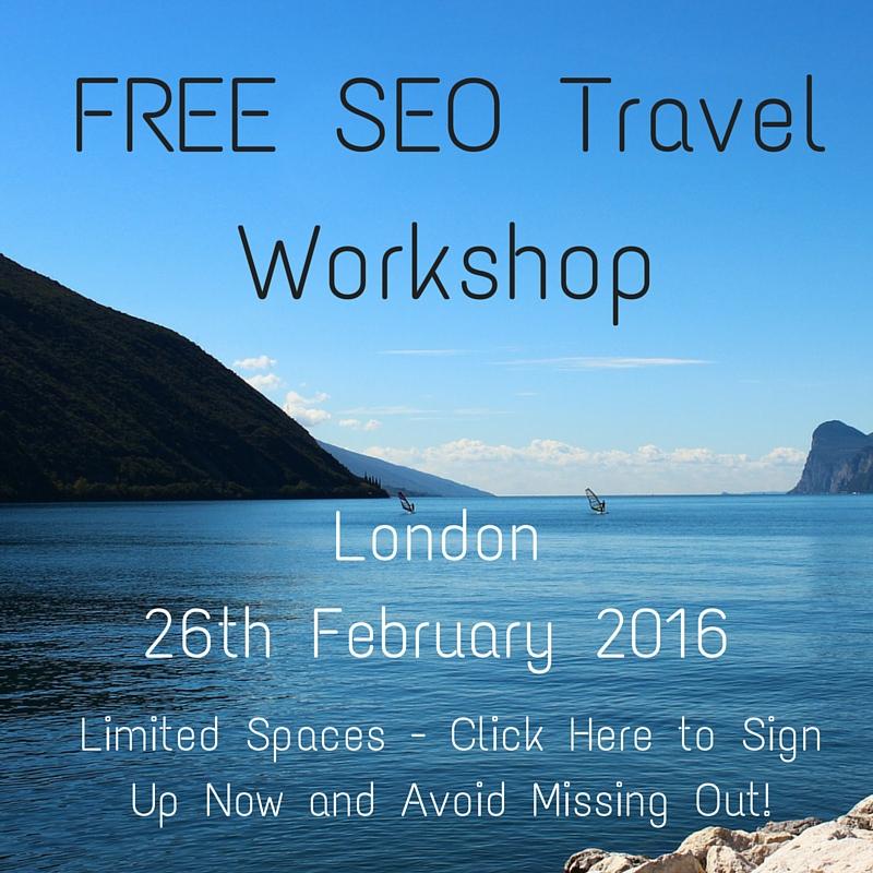 SEO Travel Workshop