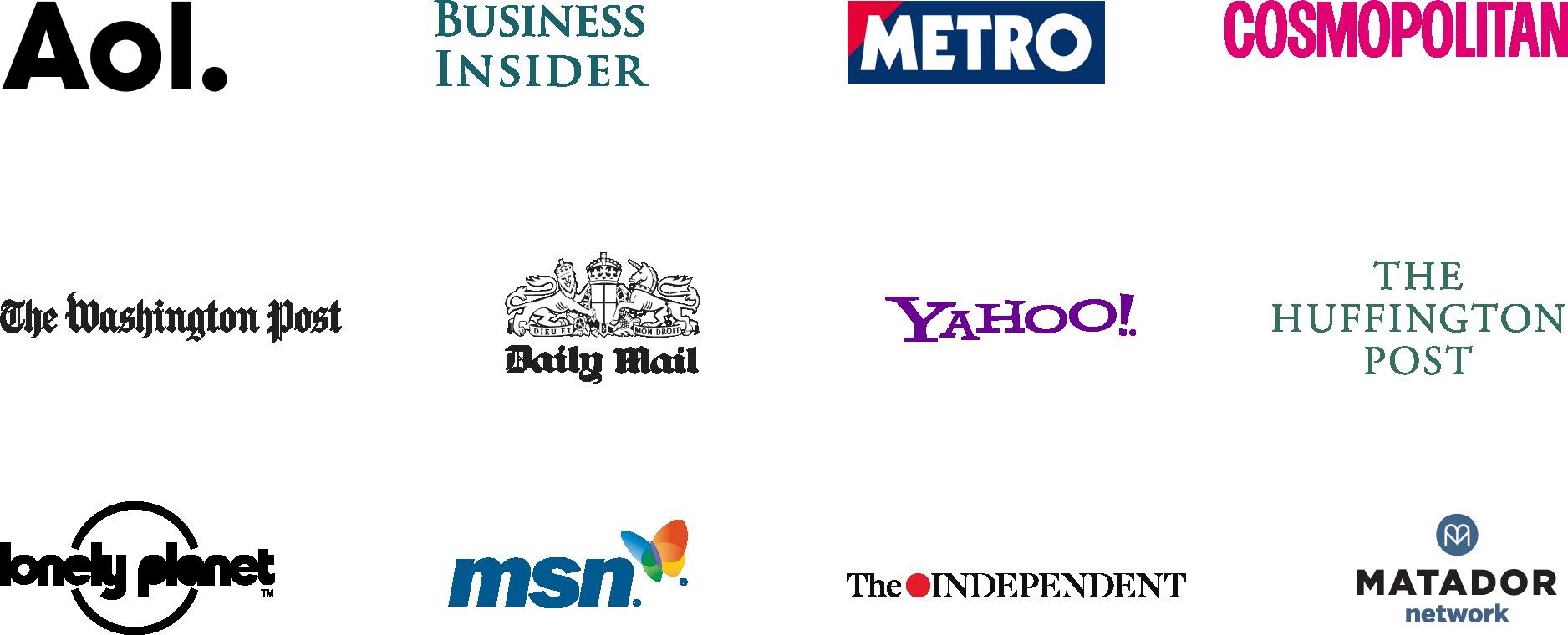 SEO logos banner