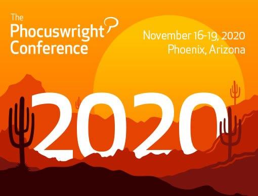 Phocuswright Conference Phoenix Banner 2020