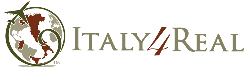 Italy4real logo transparent