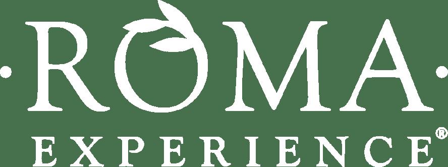 Roma Experience logo white transparent
