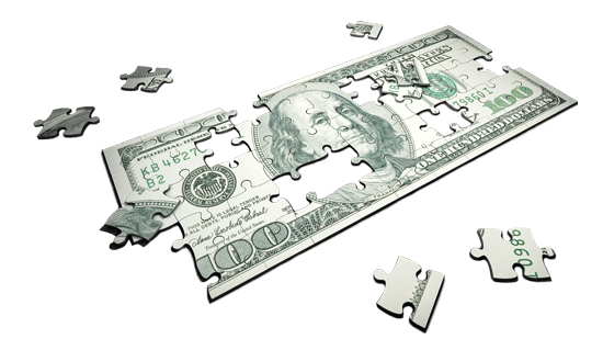 Dollar Bill Jigsaw