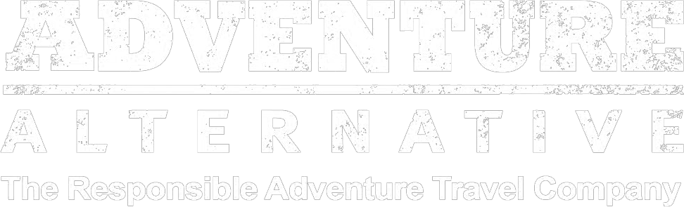 Adventure Alternative Logo White Transparent